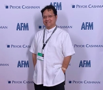 Edwin at the American Film Market in 2018.